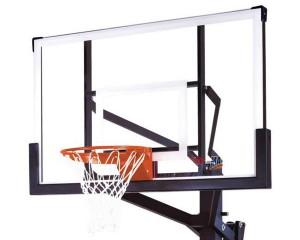 Glass Backboard Basketball Goal